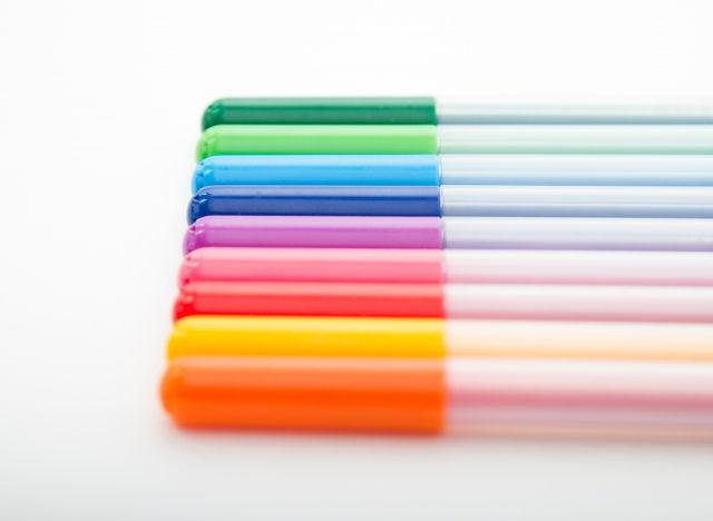 色を使って書く